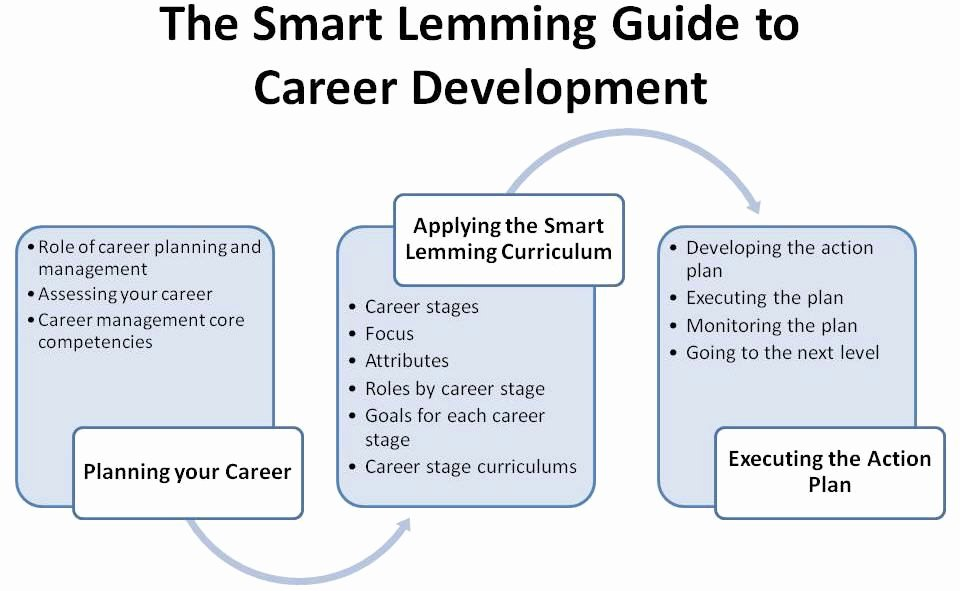 Career Action Plan Template Unique Smart Lemming Guide to Career Development