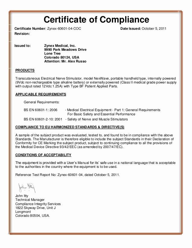 Certificate Of Conformity Template Elegant Zmpczm 13 03 Certificate Of Pliance