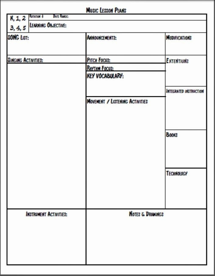 Choir Lesson Plan Template Awesome Melodysoup Blog Music Lesson Plan Template
