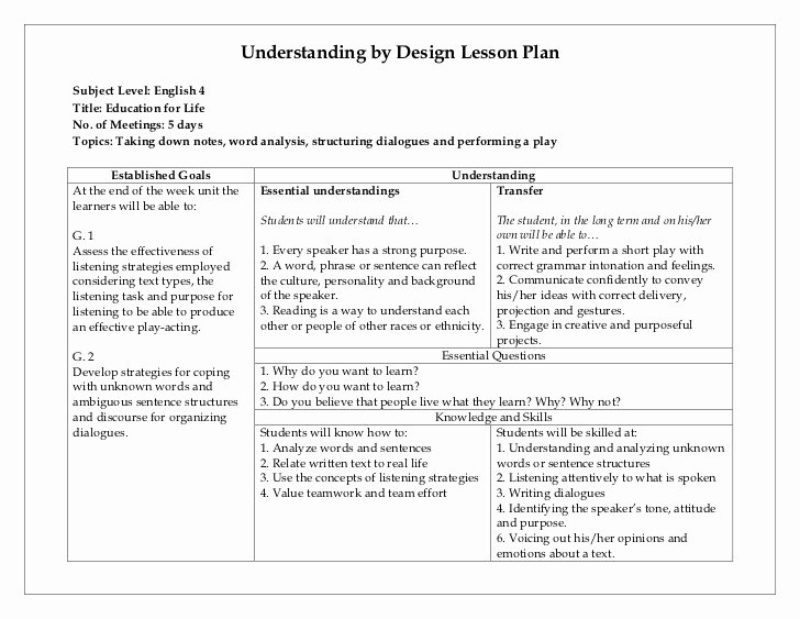 Choir Lesson Plan Template Elegant 20 Choir Lesson Plan Template