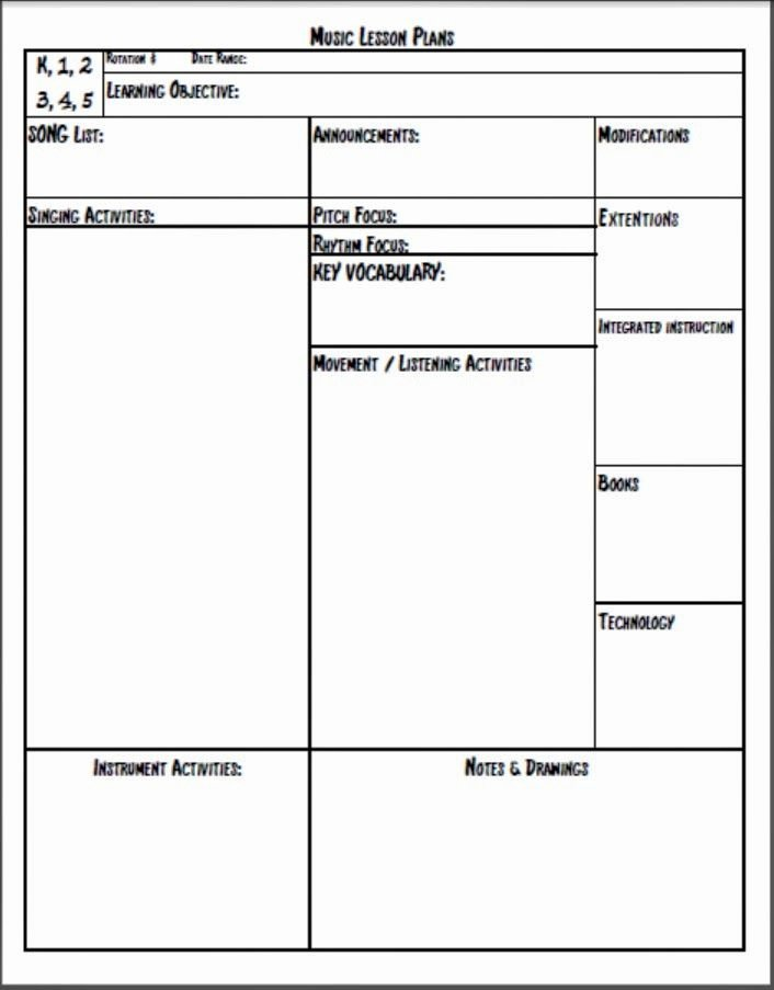 Choir Lesson Plan Template Elegant Melodysoup Blog Music Lesson Plan Template