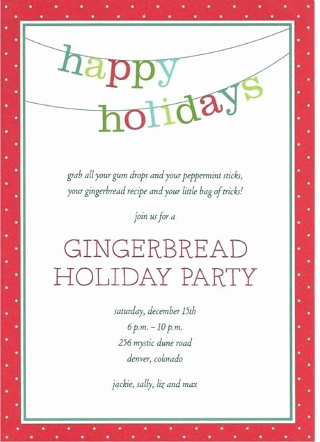 Christmas Party Invite Template Word Fresh Free Holiday Party Invitation Templates Word Paperblog