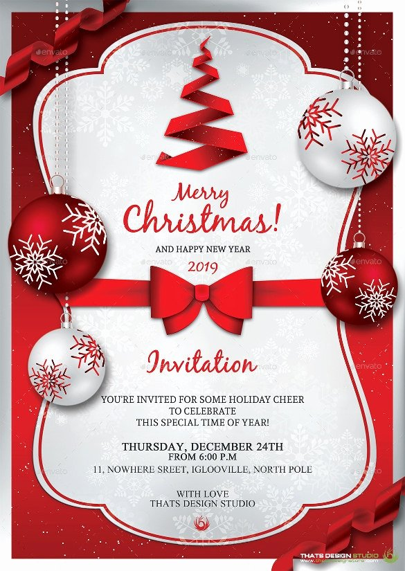 Christmas Party Invite Template Word Lovely Beautiful Christmas Invitation Templates Free for Word
