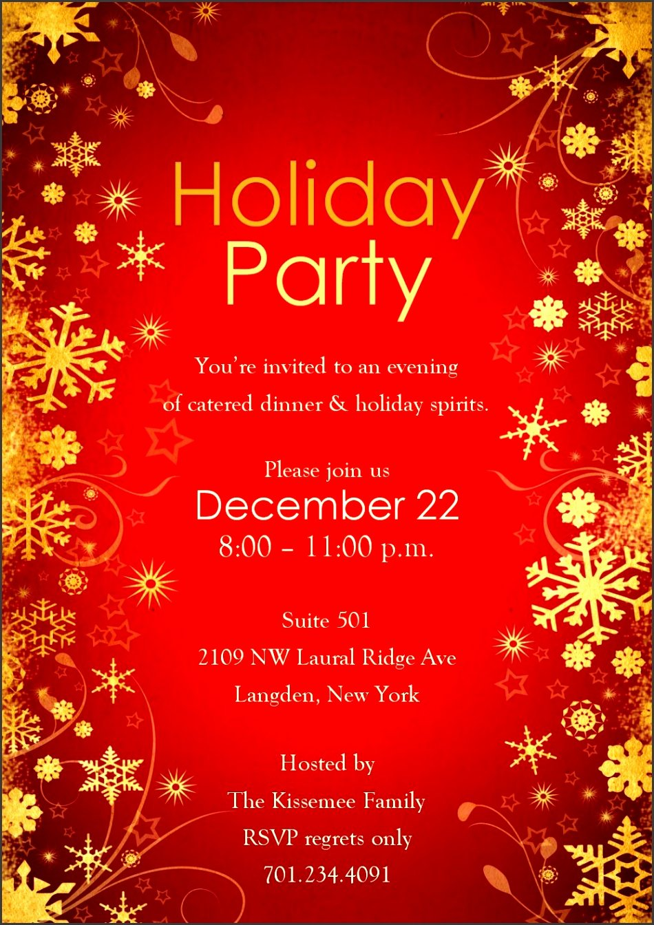 Christmas Party Invite Template Word New 10 Ms Word Birthday Party Invitation Template