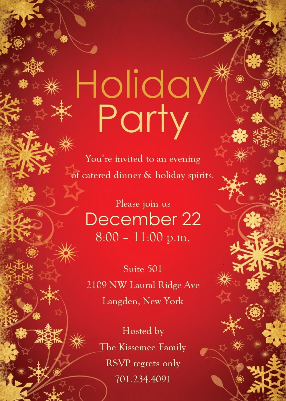 Christmas Party Invite Template Word New Free Word Christmas Invitation Templates