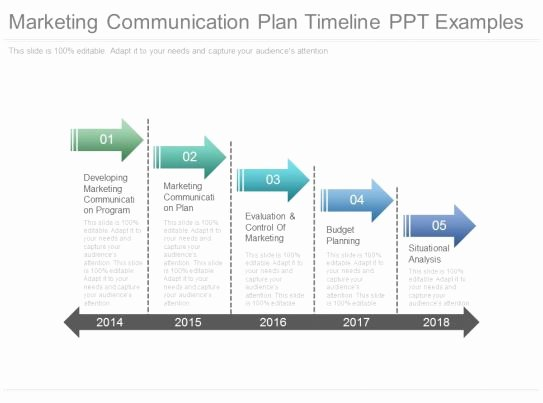 Church Communication Plan Template Luxury Marketing Munication Plan Timeline Ppt Examples