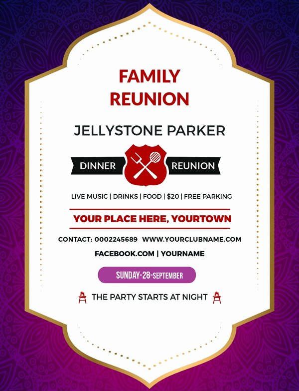 Class Reunion Invitation Template Awesome 15 Reunion Invitation Templates Psd Ai