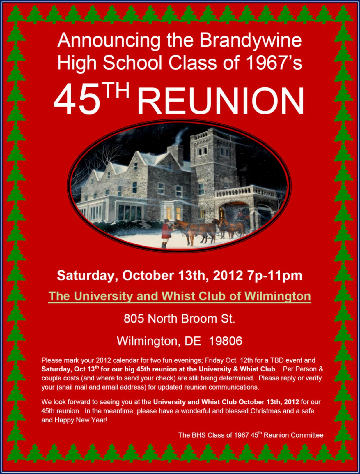 Class Reunion Invitation Template Best Of Reunion Invites Reunions Magazine