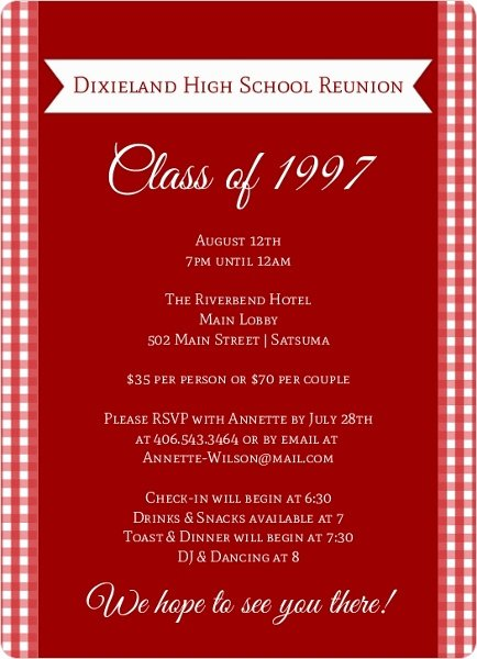 Class Reunion Invitation Template Lovely 23 Alumni Reunion Invitation Alumni Reunion Invitation