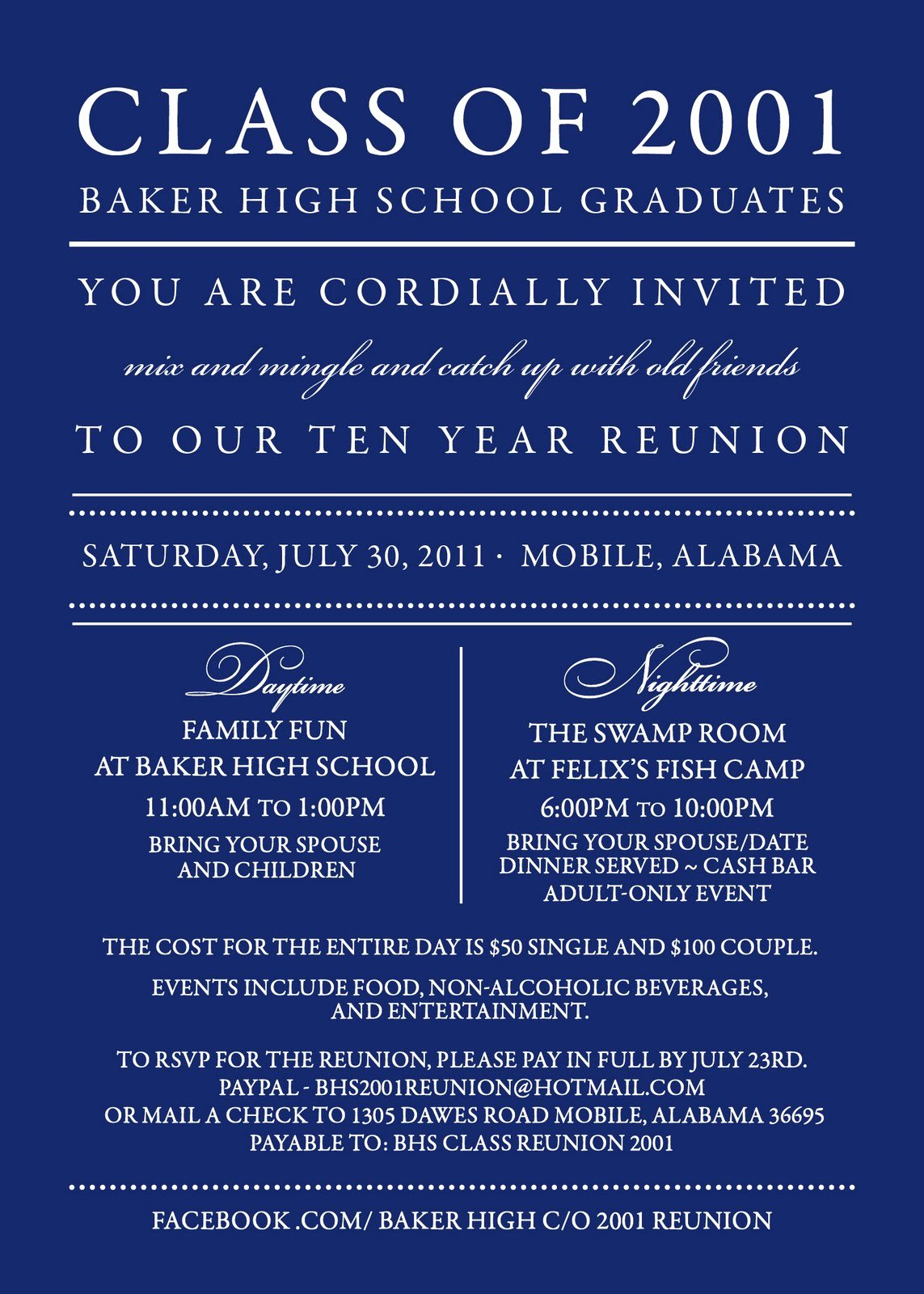 Class Reunion Invitation Template Lovely Reunion Invitation Templates Free