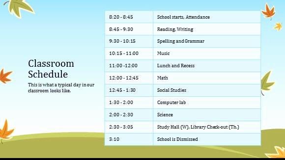 Class Schedule Template Online New 8 Class Schedule Makers Excel Templates