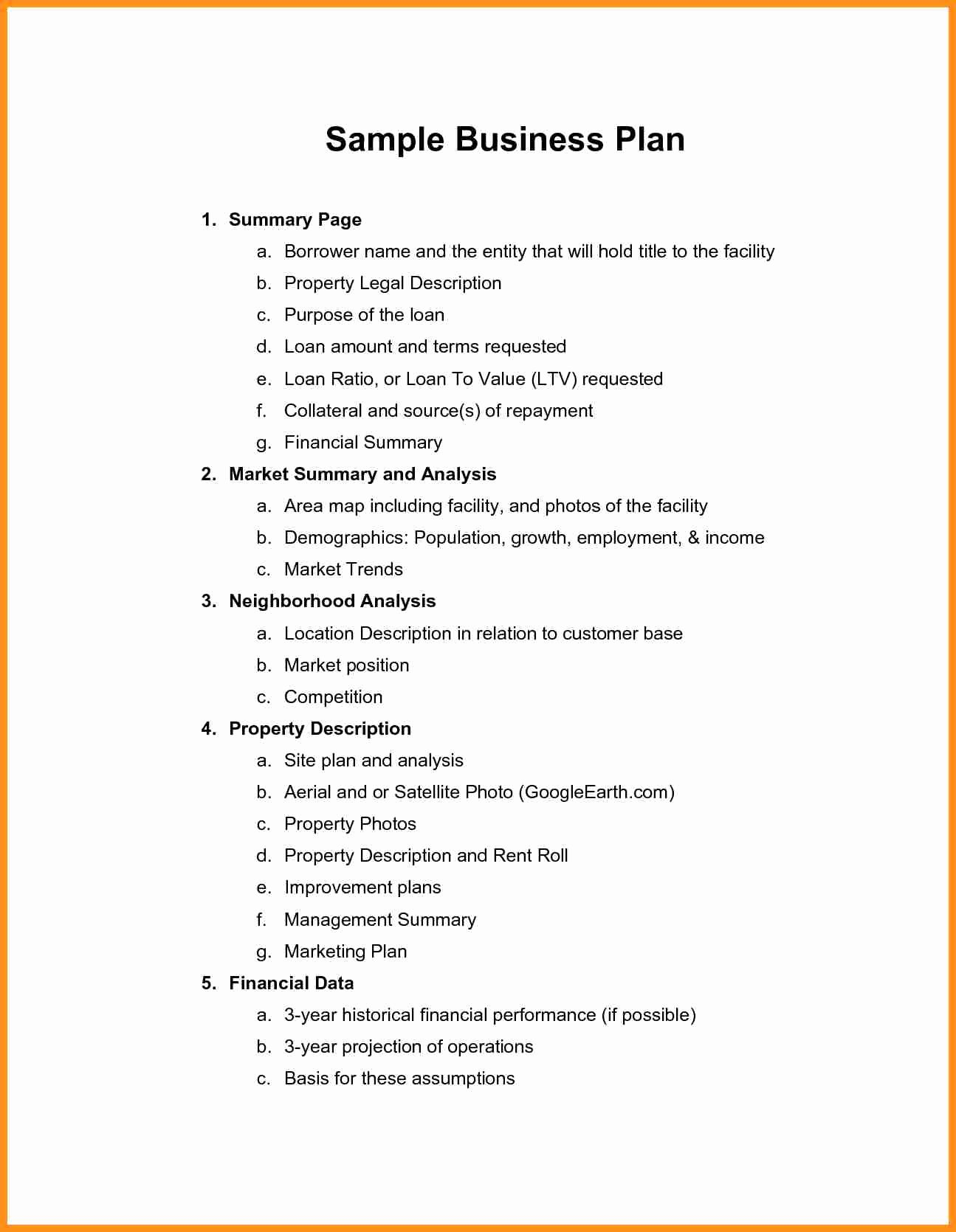 Clothing Line Business Plan Template Elegant Business Plan Sample Pdf