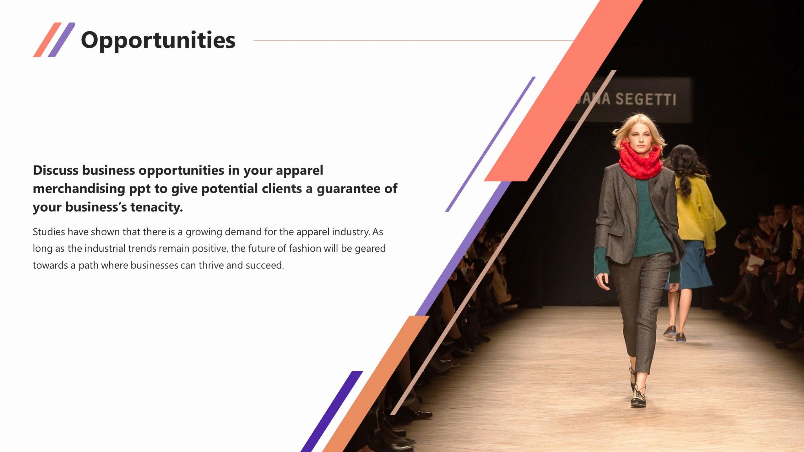 Clothing Line Business Plan Template Elegant Clothing & Apparel Premium Powerpoint Template Slidestore