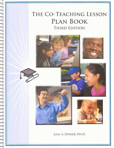 Co Teaching Lesson Plan Template Inspirational the Co Teaching Lesson Plan Book by Dieker Lisa A