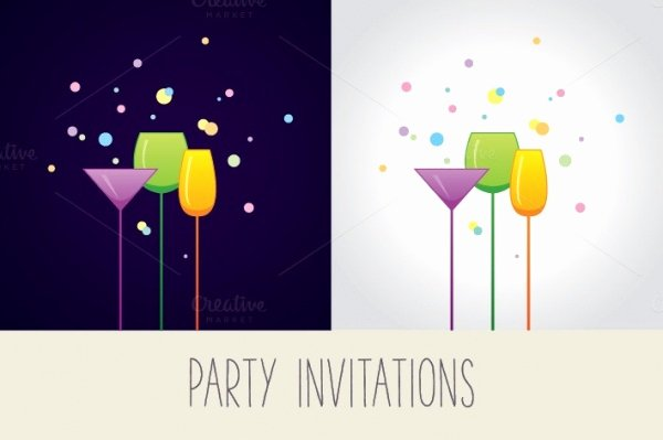 Cocktail Party Invitation Template Fresh 24 Awesome Cocktail Party Invitation Templates Word