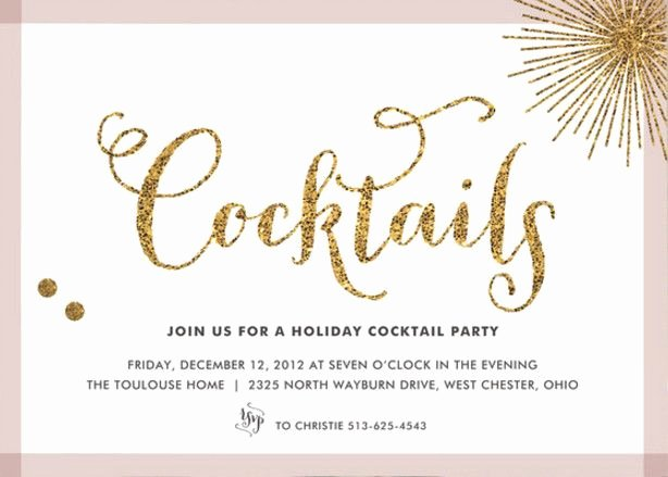 Cocktail Party Invitation Template Inspirational Cocktail Party Invitation Letter