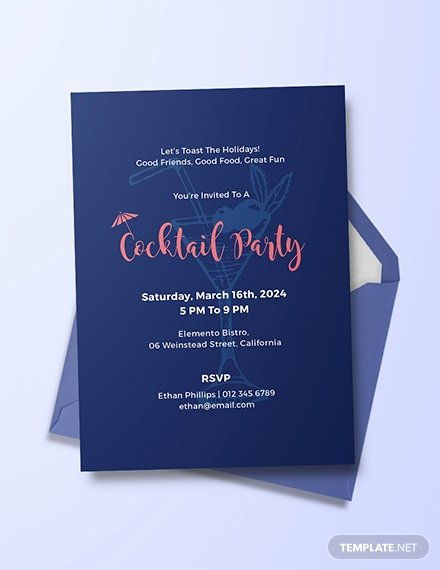 Cocktail Party Invitation Template Inspirational Free Garden Party Invitation Template Download 344