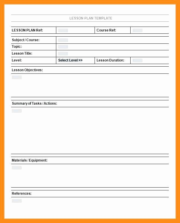 College Course Planning Template Best Of 9 10 College Course Planning Template