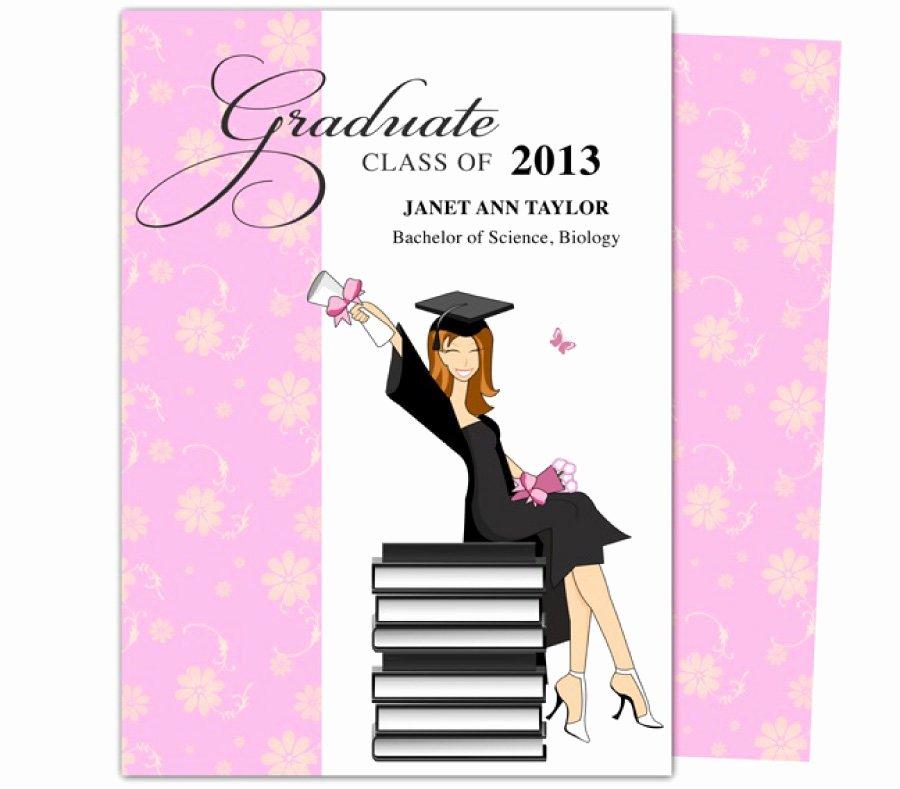 College Graduation Invitation Template Inspirational 40 Free Graduation Invitation Templates Template Lab