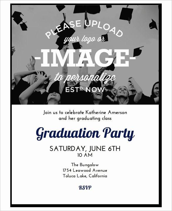 College Graduation Invitation Template Lovely 37 Invitation Templates Word Pdf Psd Publisher