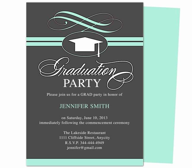 College Graduation Invitation Template Luxury 46 Best Printable Diy Graduation Announcements Templates