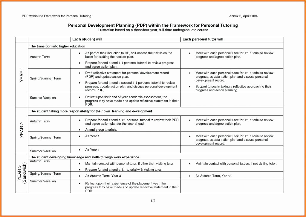 Communication Action Plan Template Awesome Personal Skills Development Action Plan for Care Matrix