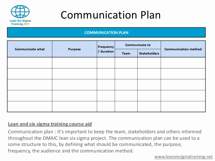 Communication Plan Template Excel Lovely Munication Plan Template