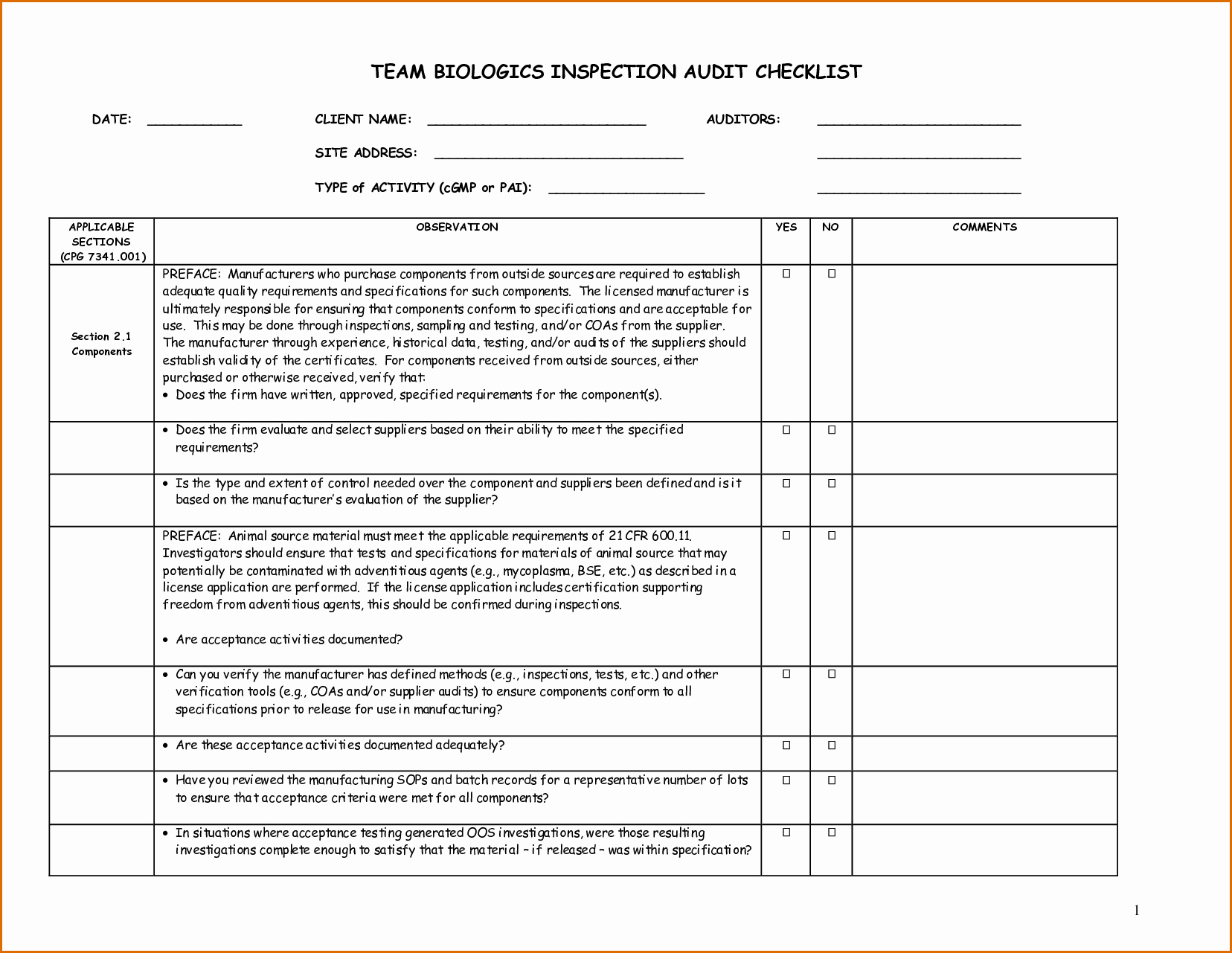 Computer Repair forms Template Best Of 8 Checklist Template