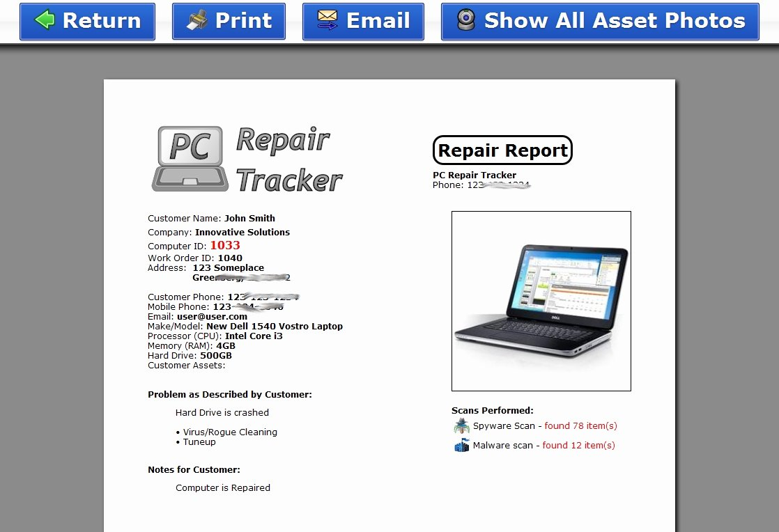 Computer Repair forms Template Best Of Puter Repair Invoice Invoice Template Ideas