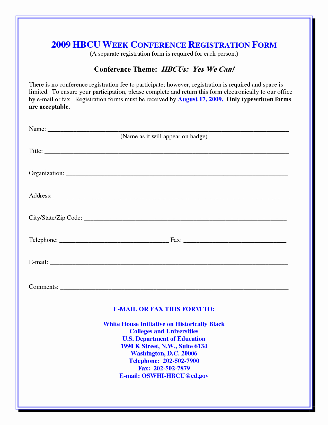 Conference Registration form Template Word Elegant Index Of Cdn 3 1993 630