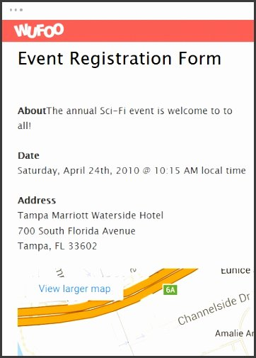 Conference Registration form Template Word Fresh 10 event Registration form Template Microsoft Word