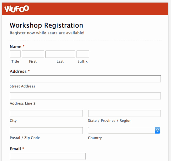Conference Registration form Template Word Fresh Printable Registration form Templates Word Excel Samples