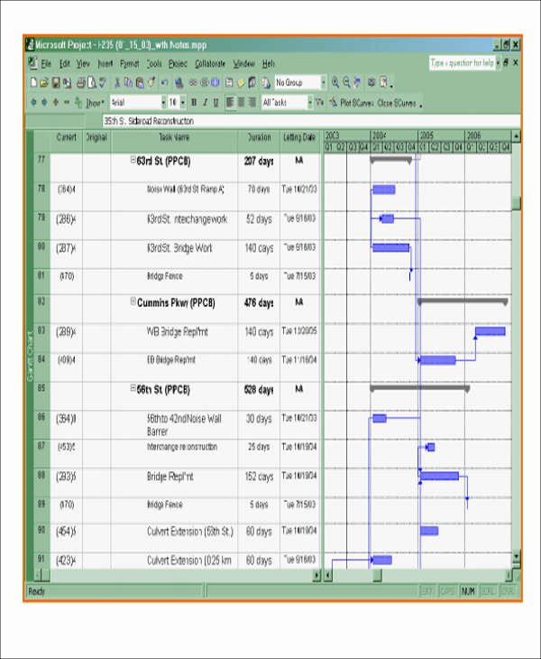 Construction Project Schedule Template Excel Inspirational 13 Excel Construction Schedule Templates
