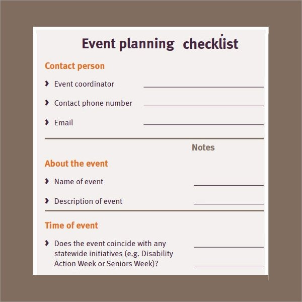 Corporate event Planning Checklist Template Awesome 14 Checklist Samples