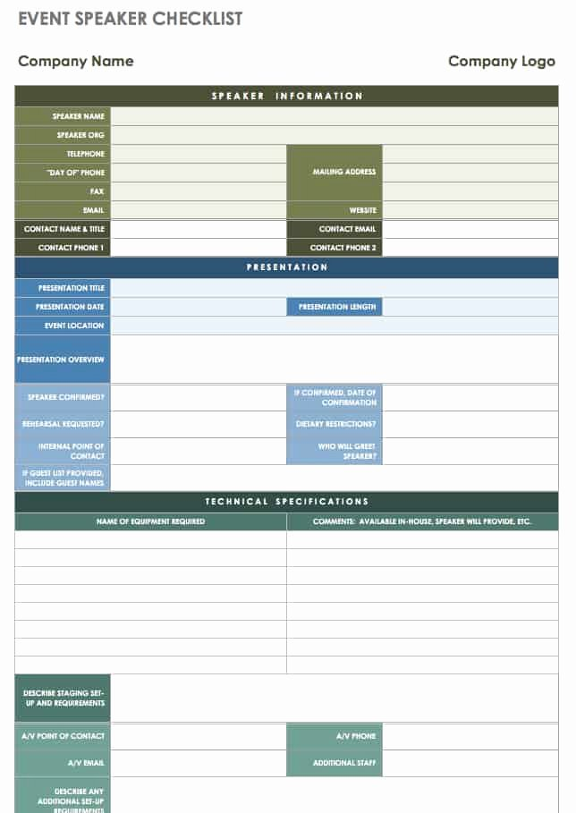 Corporate event Planning Checklist Template Best Of 21 Free event Planning Templates
