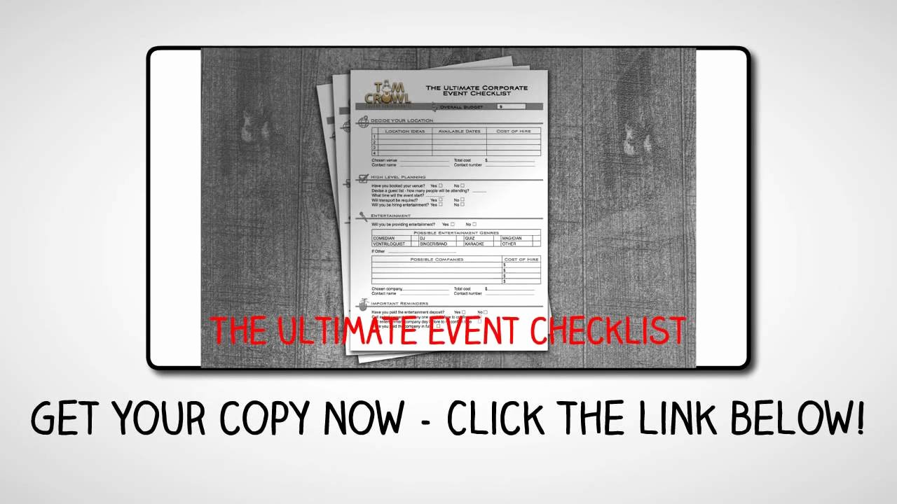 Corporate event Planning Template Lovely Ultimate Corporate event Planning Checklist Template