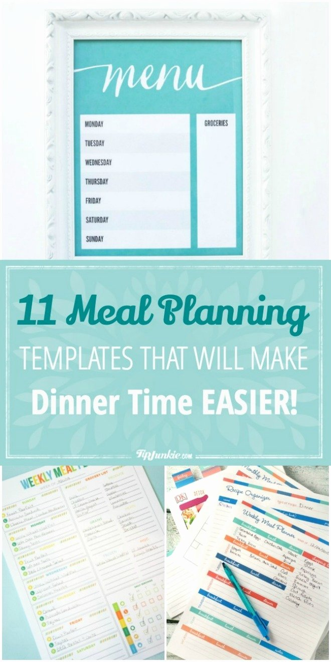 Create A Meal Plan Template New 11 Meal Planning Templates that Will Make Dinner Time