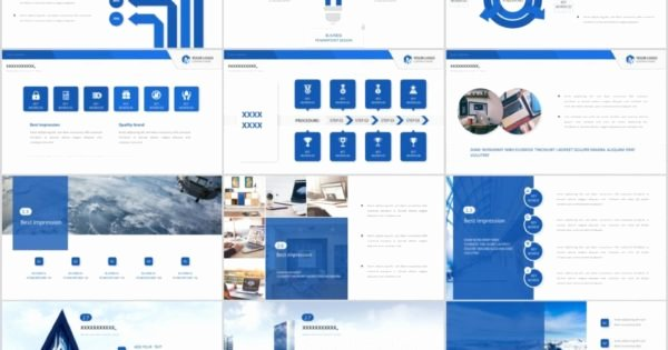 Creative Business Plan Template Awesome 26 Blue Creative Business Plan Powerpoint Template – the