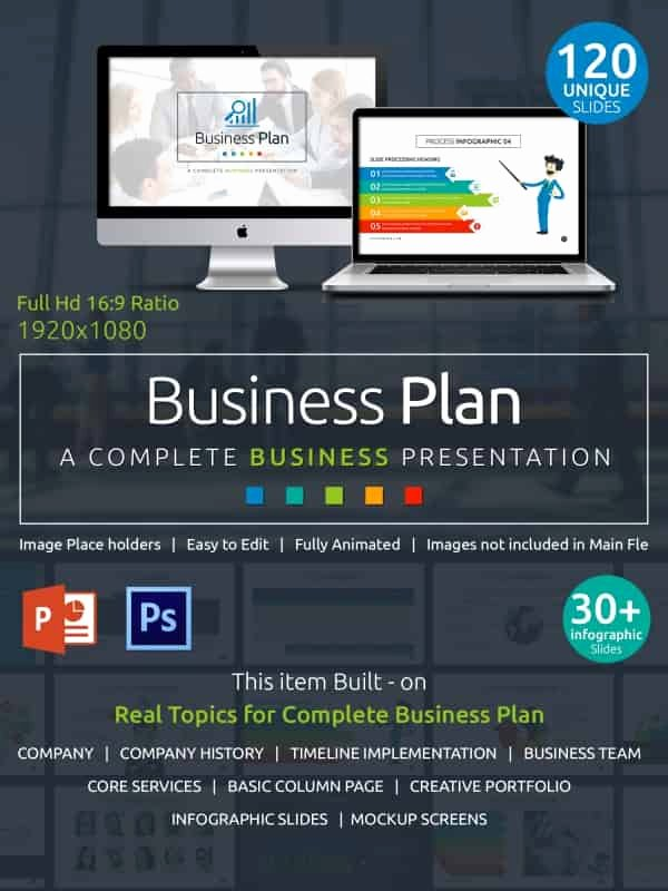 Creative Business Plan Template New 24 Powerpoint Templates with Animation