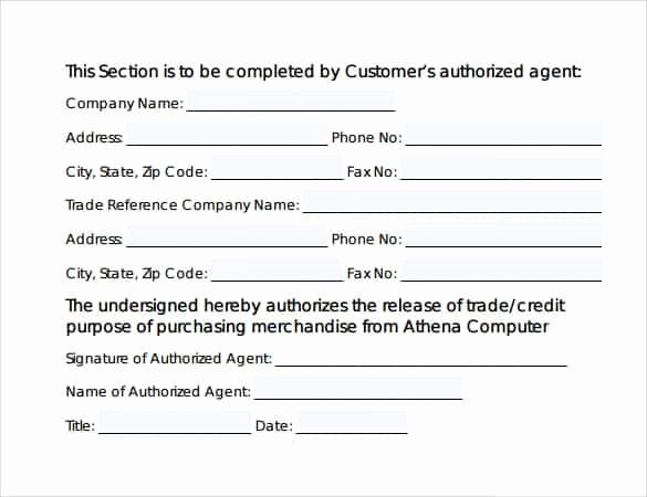 Credit Reference form Template Fresh 8 Trade Reference Templates Word Excel Fomats