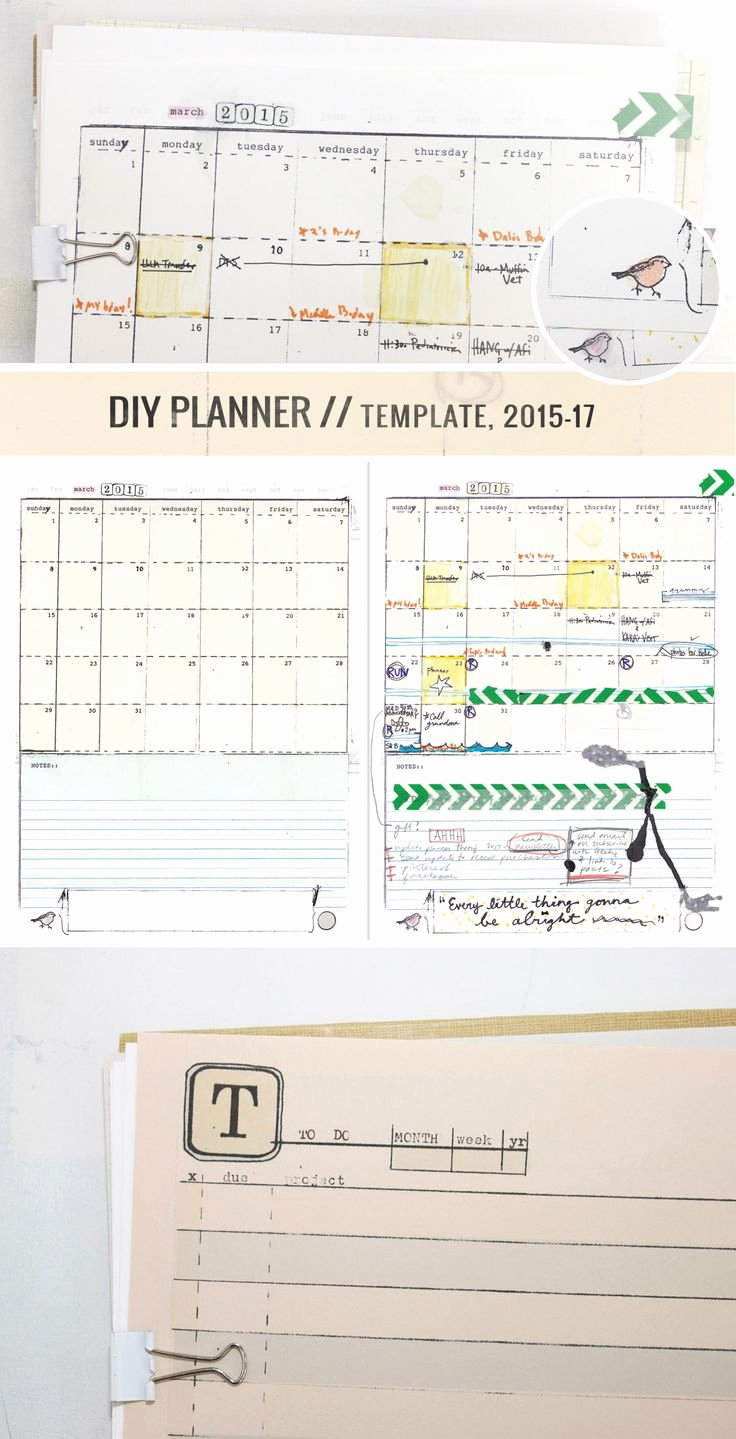 Custom Day Planner Template Best Of Best 100 Diy Planners and Binders Images On Pinterest