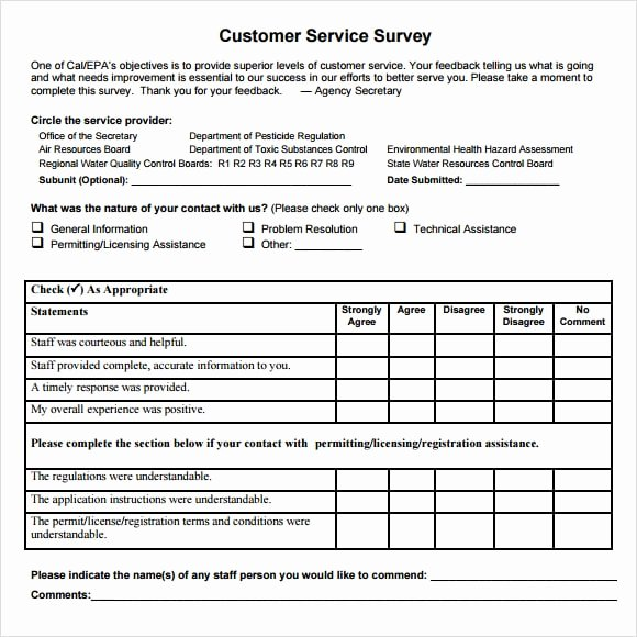 Customer Feedback form Template Beautiful 6 Consumer Questionnaire Examples Pdf
