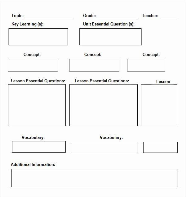 Daily Lesson Plan Template Word Unique Daily Planner Template 7 Download Documents In Pdf Word