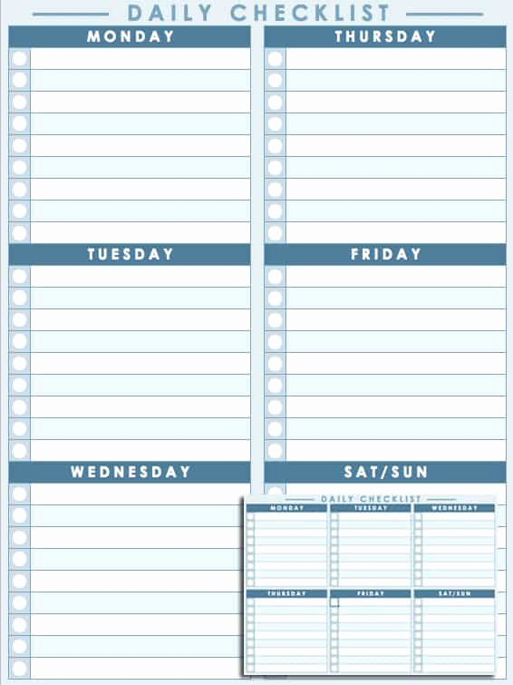 Daily Schedule Template Free New Free Daily Schedule Templates for Excel Smartsheet