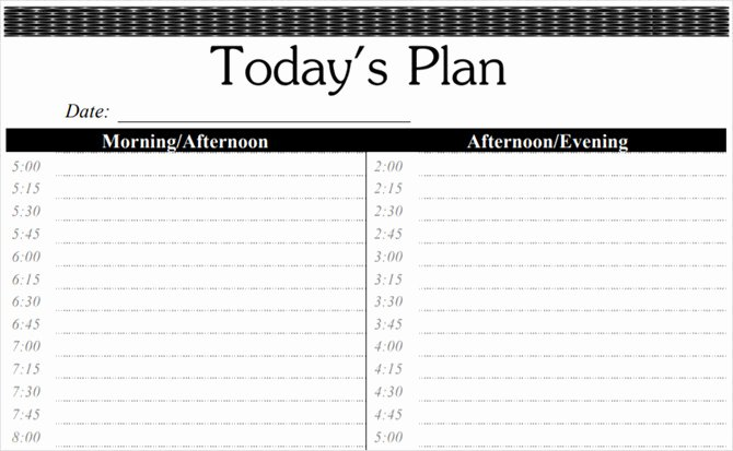 Daily Time Schedule Template New these Time Blocking Free Printable Planners Will Help You