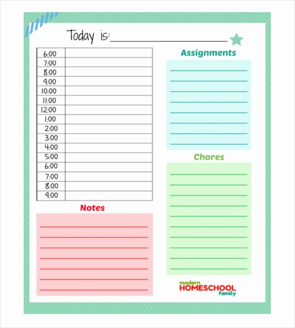 Daily Work Planner Template Beautiful 31 Daily Planner Templates Pdf Doc