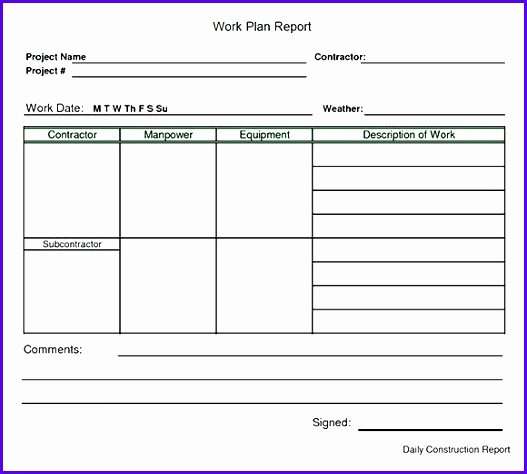 Daily Work Planner Template Luxury 12 Work Plan Template Excel Free Exceltemplates