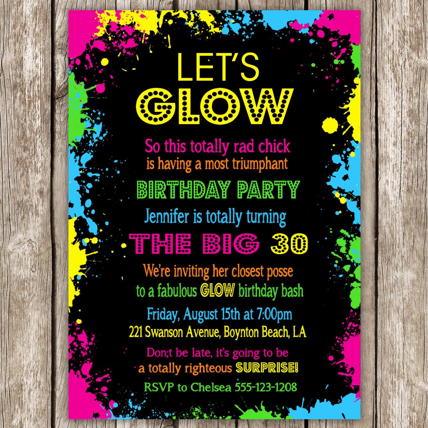 Dance Party Invitation Template Elegant Dance Party Birthday Invitations — Birthday Invitation