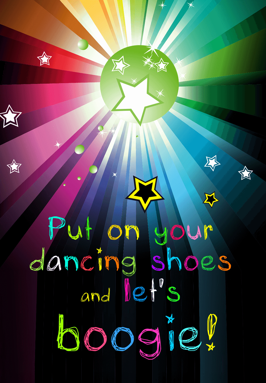 Dance Party Invitation Template Inspirational Lets Boogie Free Printable Party Invitation Template