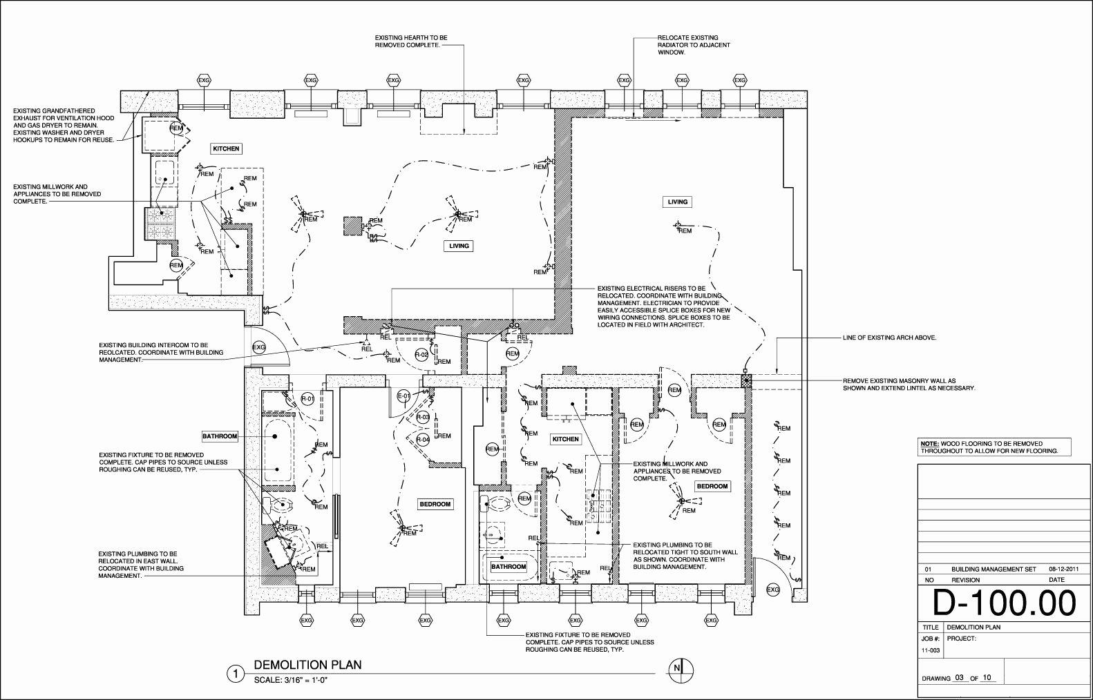 Demo Lesson Plan Template Elegant Demolition Plan Construction Documents